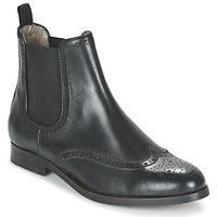 Topánky Ženy Polokozačky Hudson ASTA CALF Čierna
