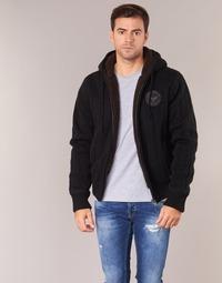Oblečenie Muži Svetre Schott DUNLIN Čierna