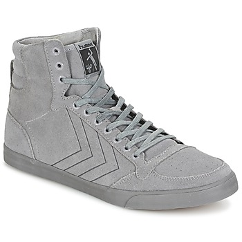 Topánky Členkové tenisky Hummel TEN STAR TONAL HIGH šedá