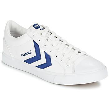 Topánky Nízke tenisky Hummel BASELINE COURT Biela / Modrá