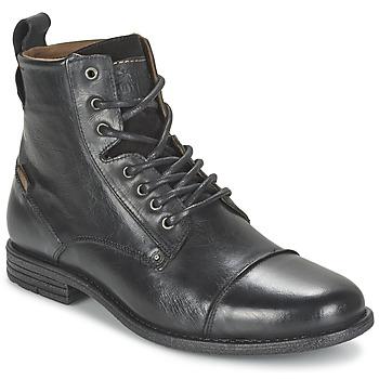 Topánky Muži Polokozačky Levi's EMERSON LACE UP čierna