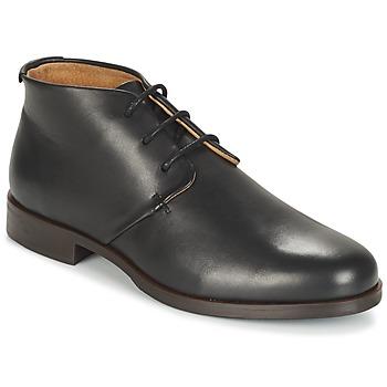 Topánky Muži Polokozačky M. Moustache EDMOND Čierna