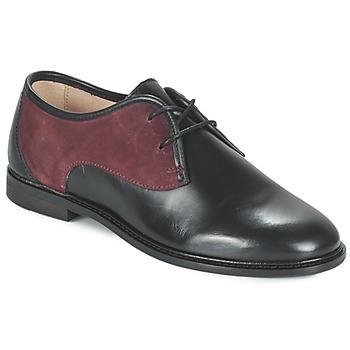 Topánky Ženy Derbie M. Moustache EUGENIE čierna / Bordová