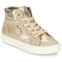 Topánky Dievčatá Členkové tenisky Victoria BOTA METALIZADA PU Zlatá