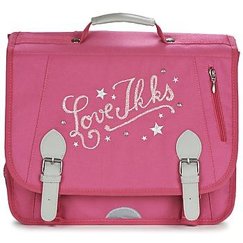 Tašky Dievčatá Školské tašky a aktovky Ikks LOVE IKKS CARTABLE 38CM Ružová