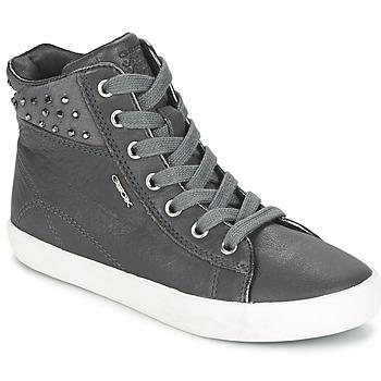 Topánky Dievčatá Členkové tenisky Geox KIWI GIRL šedá