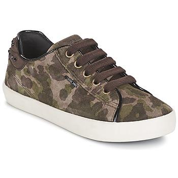 Topánky Dievčatá Nízke tenisky Geox KIWI GIRL Zelená