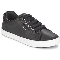 Topánky Dievčatá Nízke tenisky Geox KIWI GIRL Čierna