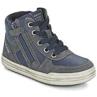 Topánky Chlapci Členkové tenisky Geox ELVIS Modrá / šedá