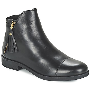 Topánky Dievčatá Polokozačky Geox AGATE čierna