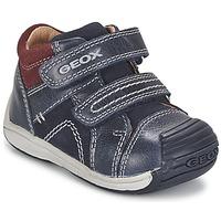 Topánky Chlapci Členkové tenisky Geox B TOLEDO BOY Modrá