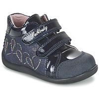 Topánky Dievčatá Členkové tenisky Pablosky VANIDELLE Námornícka modrá