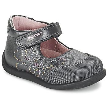 Topánky Dievčatá Balerínky a babies Pablosky JOUBEK šedá