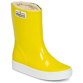 Topánky Dievčatá Čižmy do dažďa Lemon Jelly FAIRY Žltá