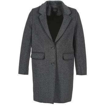 Oblečenie Ženy Kabáty Eleven Paris TABLEAUBIS Šedá / Čierna