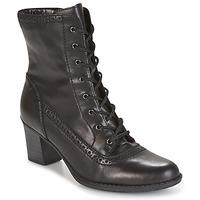 Topánky Ženy Čižmičky Rieker SEBILLE čierna