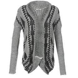 Oblečenie Ženy Cardigany Teddy Smith GRANBY Krémová / čierna