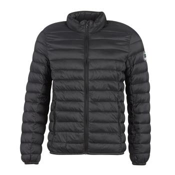 Oblečenie Muži Vyteplené bundy Teddy Smith BLIGHT Čierna