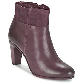 Topánky Ženy Čižmičky Fred de la Bretoniere NAVAJO Bordová
