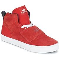 Topánky Muži Členkové tenisky Supra ROCK červená