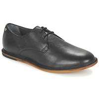 Topánky Muži Derbie Frank Wright BURLEY čierna