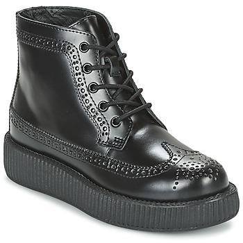 Topánky Polokozačky TUK MONDO LO čierna