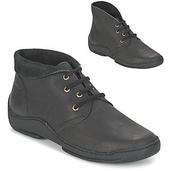 Topánky Ženy Polokozačky Arcus MOKALA čierna