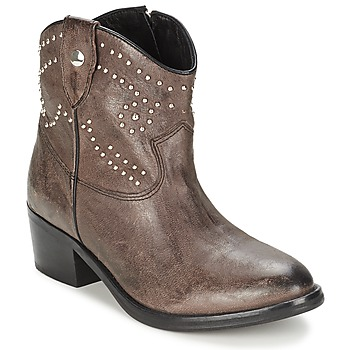 Topánky Ženy Polokozačky Koah ELISSA šedá kamenná