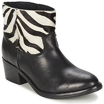 Topánky Ženy Polokozačky Koah ELEANOR čierna