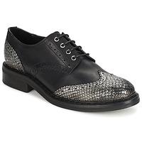 Topánky Ženy Derbie Koah LESTER Čierna / Strieborná