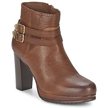 Topánky Ženy Nízke čižmy Koah BONNIE Oranžová koňaková