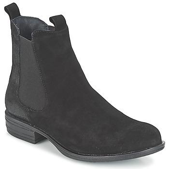 Topánky Ženy Polokozačky Casual Attitude FENDA Čierna