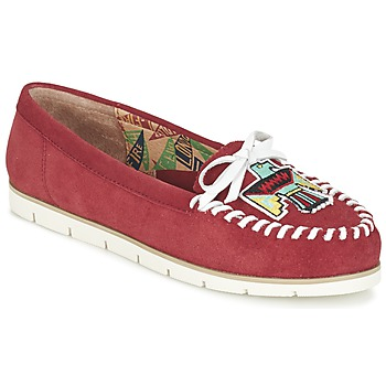 Topánky Ženy Mokasíny Miss L'Fire YHUNDERBIRD Červená