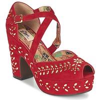 Topánky Ženy Sandále Miss L'Fire SELINA červená