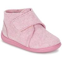 Topánky Dievčatá Papuče Citrouille et Compagnie FELINDRA Ružová