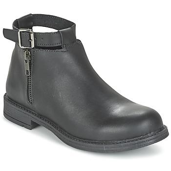 Topánky Dievčatá Polokozačky Citrouille et Compagnie FRIZZY Čierna