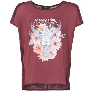 Oblečenie Ženy Tričká s krátkym rukávom Le Temps des Cerises CRANEFLO Bordová