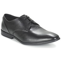 Topánky Muži Derbie Clarks BAMPTON LACE Čierna