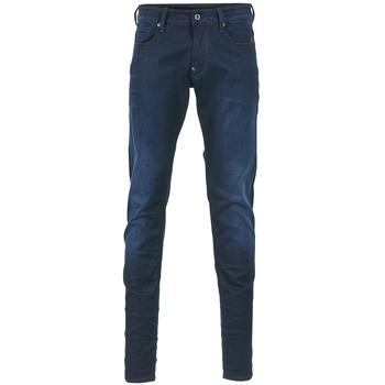 Oblečenie Muži Džínsy Skinny G-Star Raw REVEND SUPER SLIM Modrá indigová