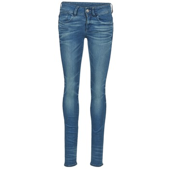 Oblečenie Ženy Džínsy Skinny G-Star Raw LYNN MID SKINNY Modrá