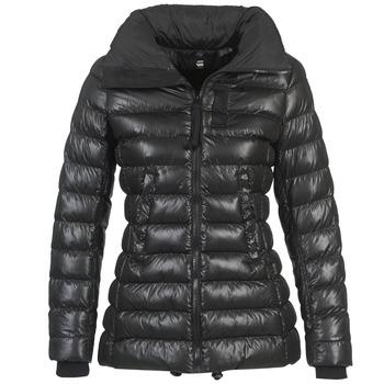 Oblečenie Ženy Vyteplené bundy G-Star Raw WHISTLER SLIM COAT Čierna