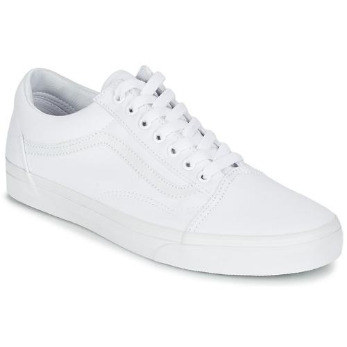 Topánky Nízke tenisky Vans OLD SKOOL Biela