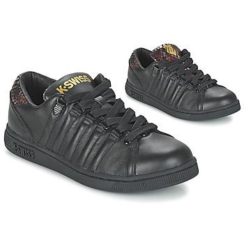Topánky Ženy Nízke tenisky K-Swiss LOZAN TONGUE TWISTER Čierna / Zlatá