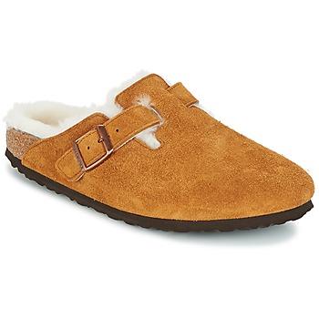 Topánky Ženy Nazuvky Birkenstock BOSTON Hnedá