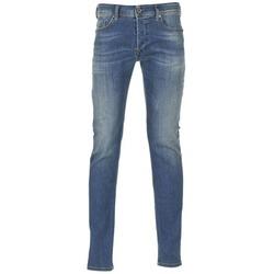 Oblečenie Muži Džínsy Skinny Diesel SLEENKER Modrá / 0855Q