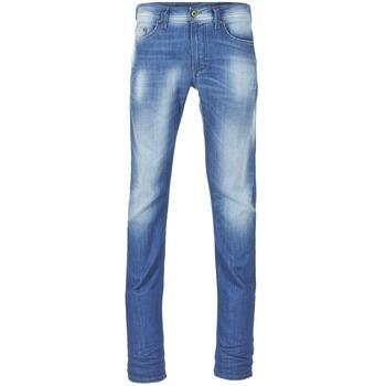 Oblečenie Muži Džínsy Slim Diesel THAVAR Modrá / 0855G