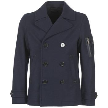 Oblečenie Muži Kabáty Diesel W SAMICO Námornícka modrá