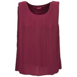 Oblečenie Ženy Tielka a tričká bez rukávov Bensimon REINE Fialová