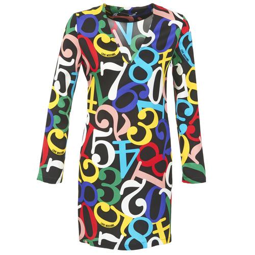 Oblečenie Ženy Krátke šaty Love Moschino PICHANI Viacfarebná