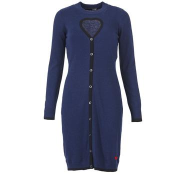 Oblečenie Ženy Krátke šaty Love Moschino PESCARI Námornícka modrá